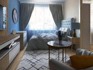 Проект совмещенный спальни и кухни Спальня в классическом стиле от Musin Ruslan Классический