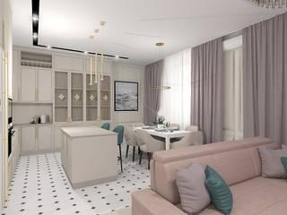 Проект квартиры в современной классике: Кухни в . Автор – ARTWAY центр профессиональных дизайнеров и строителей,