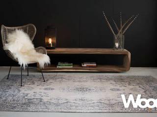 Suarhouten tv meubel 200x40cm en 50cm hoog! (andere afmetingen ook mogelijk) van Woodlovesyou&more Industrieel Hout Hout