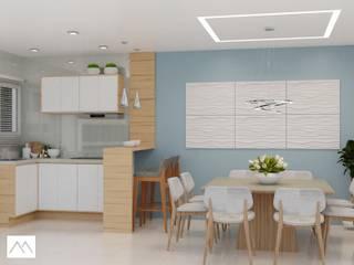 CFP - Cozinha: Cozinhas  por Studio MBS Arquitetura,Moderno