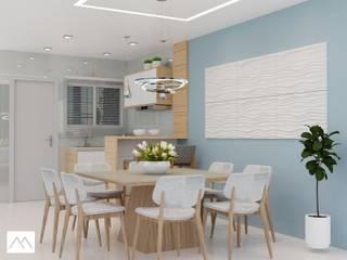 CFP - Cozinha: Salas de jantar  por Studio MBS Arquitetura,Moderno