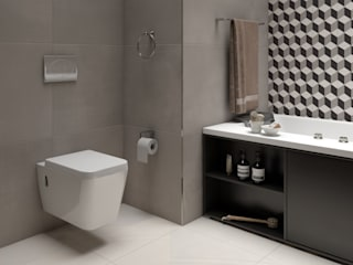 Modern Bathroom by Interceramic MX Modern