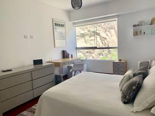 DORMITORIO HOMBRE Habitaciones de estilo minimalista de Home Staging & Co. Minimalista