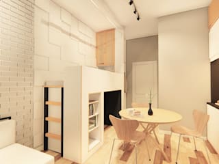 Minimalist kitchen by LI A'ALAF ARCHITECT Minimalist