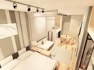 Ruang Keluarga Minimalis Oleh LI A'ALAF ARCHITECT Minimalis