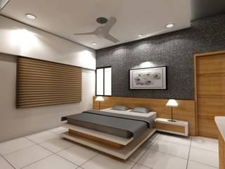 residential design Minimalist bedroom by scale studio Minimalist