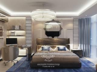 غرفة نوم تنفيذ Дизайн-студия элитных интерьеров Анжелики Прудниковой