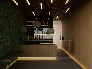 Bars & clubs by 21arquitectos, Minimalist