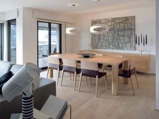 VIVIENDA ALAMEDA I Comedores de estilo moderno de Ximo Roca Diseño Moderno