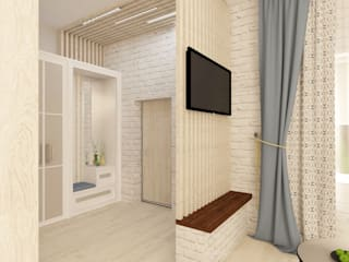 Living room by lux.Plus, Scandinavian