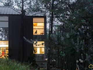 CÔNG TY THIẾT KẾ NHÀ ĐẸP SANG TRỌNG CEEB Casas de estilo moderno