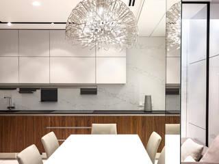 Квартира в ЖК Кристалл Кухня в стиле минимализм от os.architects Минимализм
