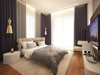 Bedroom by os.architects, Minimalist