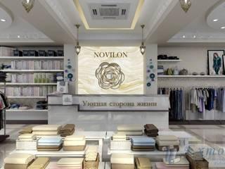 Дизайн магазина домашней  одежды: Офисы и магазины в . Автор – Цунёв_Дизайн. Студия интерьерных решений.