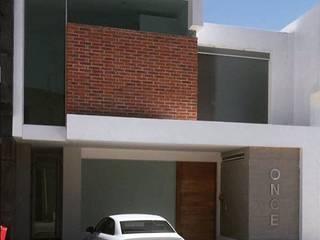 Casa Once Bosques : Casas multifamiliares de estilo  por Belen homify,