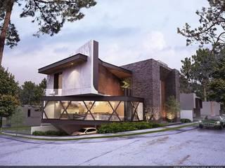 Casa Irapuato EBA Architecture & Desing Casas multifamiliares