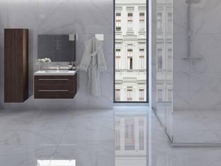 Minimalist bathroom by Interceramic MX Minimalist