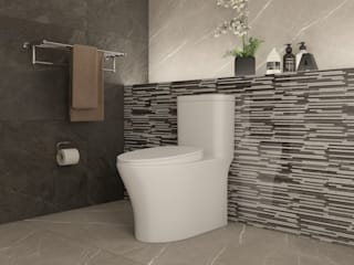 Eclectic style bathroom by Interceramic MX Eclectic