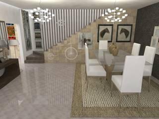 Diseño de cocina - Interiorismo :  de estilo  por Central Grup, Moderno
