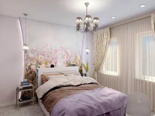 Современная детская спальня Детская комнатa в скандинавском стиле от Цунёв_Дизайн. Студия интерьерных решений. Скандинавский