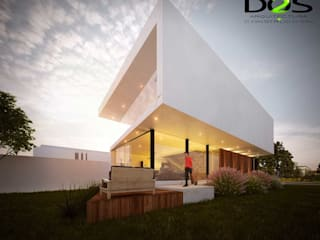 Minimalist houses by DOS Arquitectura y construcción Minimalist