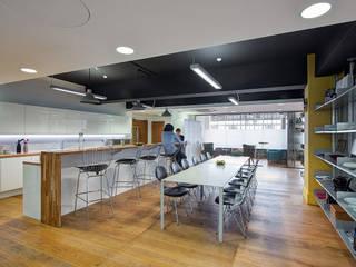 HAKKASAN LONDON OFFICE DESIGN & REFURBISHMENT:   by CCWS Interiors Ltd,