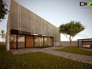 Houses by DOS Arquitectura y construcción, Modern