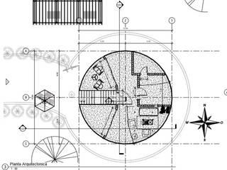 diseño de arquitectura e interiorismo de ARCHIMINIMAL ESTUDIO Minimalista