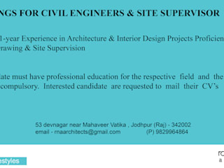 RAVI - NUPUR ARCHITECTS