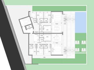 Planta tipo pisos inferiores por MCSARQ Moderno