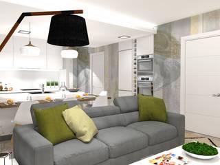 Salon moderne par PLAN B INTERIORISMO Moderne
