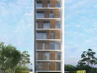 Edifício para Incorporadora por Studio Costa Campos Moderno