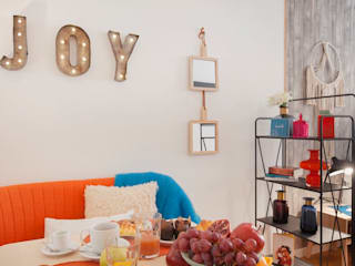 Rafaela Fraga Brás Design de Interiores & Homestyling Living room Orange