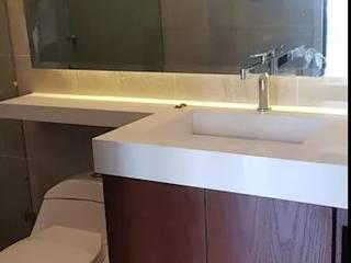 Diseño y Fabricación de Mobiliario (MuebleS de Baño) Decórame diseño más interiorismo BañosAlmacenamiento Morado/Violeta