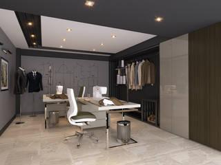 Püff Noktası – H.G. Ofis: modern tarz , Modern