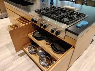 DEPARTAMENTO BOSQUES DE LAS LOMAS - en colaboración Cocinas modernas de AMID Moderno