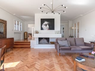 Arquigestiona Reformas S.L. Livings modernos: Ideas, imágenes y decoración Blanco