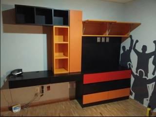 Diseño y Fabricación de Muebles para TV Decórame diseño más interiorismo Sala multimediaMuebles
