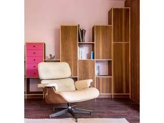 Estudios y bibliotecas de estilo minimalista de AMID Minimalista