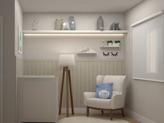 Studio MP Interiores Baby room MDF Beige