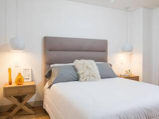 Proyecto Paula Arango Habitaciones de estilo escandinavo de Casa de Tres Escandinavo
