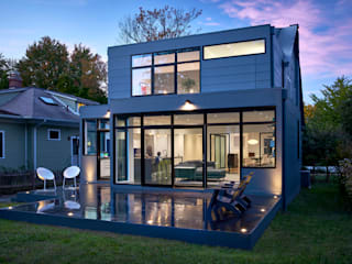 Back 2 Back KUBE architecture Modern Houses