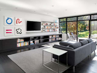 Back 2 Back KUBE architecture Modern Living Room
