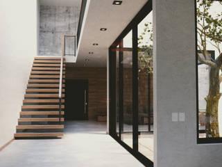 Casa de Blanco de aerrecu Moderno