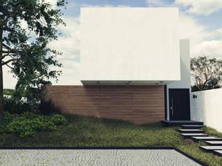 Casa de Blanco Casas modernas de aerrecu Moderno