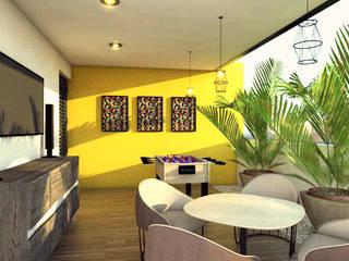 Minimalistyczny balkon, taras i weranda od Studio Colima Minimalistyczny