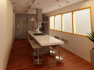 CORONA 115 Cocinas modernas de AVANT PROYECTOS Moderno