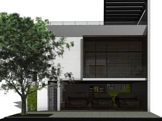CORONA 115 Casas modernas de AVANT PROYECTOS Moderno