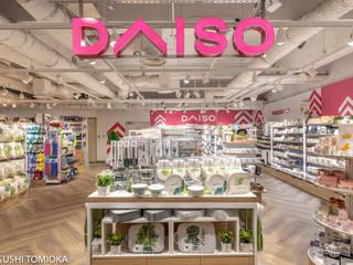 量販店新店舗撮影: 富岡写真事務所が手掛けたです。,