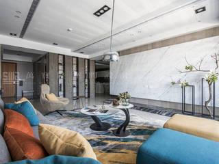 Salon de style  par SING萬寶隆空間設計,